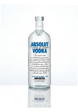 Absolut Blue Vodka 0.7 Liter