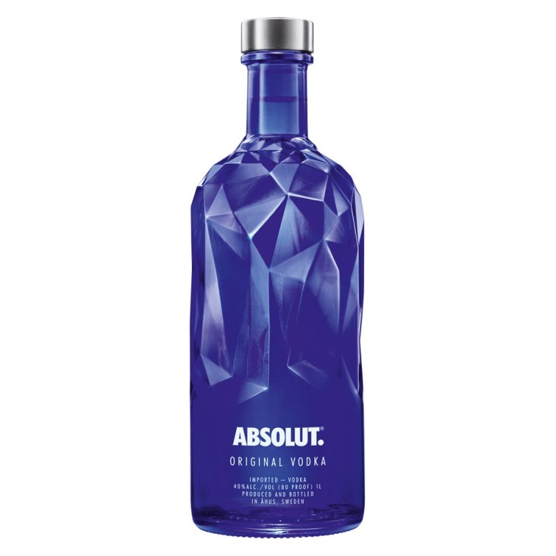 Absolut Vodka Blue Facet 1 Liter