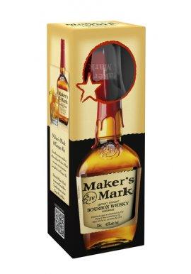 Maker's Mark Whisky Geschenkset mit Glas