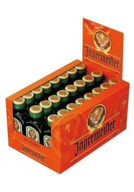 Jägermeister 24 x 0.04l Miniaturflaschen