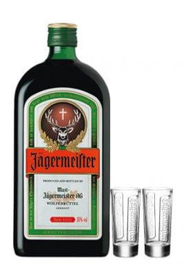 Jägermeister 1.75 Liter inkl. Glas
