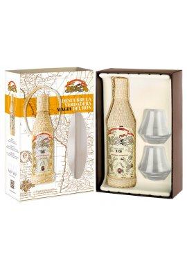 Millonario Solera Reserva Especial 15 mit 2 Gläsern 0.7 Liter