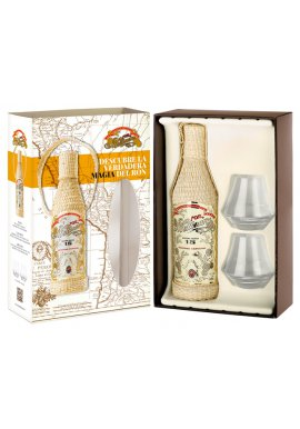Ron Millonario Solera Reserva Especial 15 mit 2 Gläsern 0.7 Liter