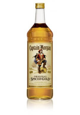 Captain Morgan Spiced Gold 3 Liter