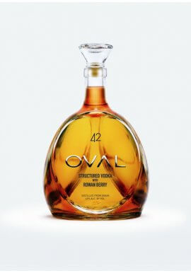 Oval 42 Rowan Berry Vodka