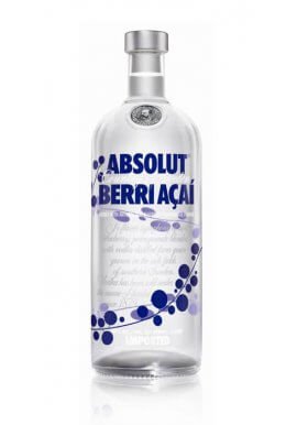 Absolut Berri Acai 1 Liter