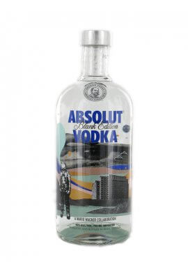 Absolut Vodka Blank Edition Wagner 0.7 Liter