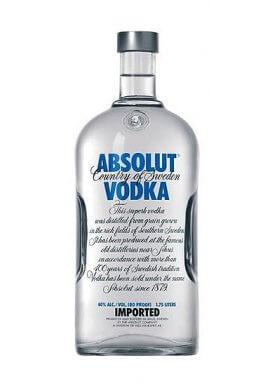 Absolut Blue Vodka 1.75 Liter