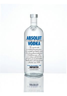 Absolut Blue Vodka 1 Liter