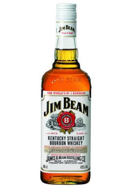 Jim Beam Bourbon Whiskey 1 Liter