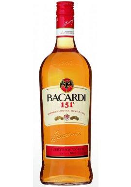 Bacardi 151 1 Liter