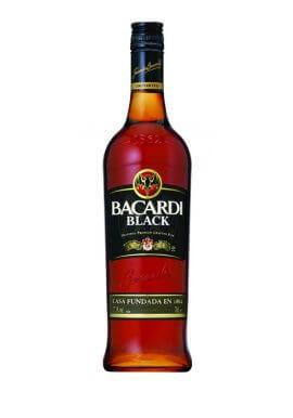 Bacardi Black Rum 0.7 Liter