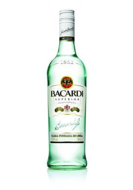 Bacardi Rum Carta Blanca 1 Liter