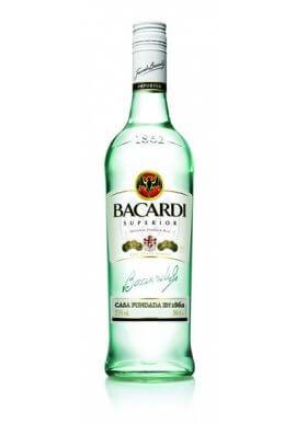 Bacardi Rum Carta Blanca 3 Liter