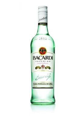 Bacardi Rum Carta Blanca 0.7 Liter