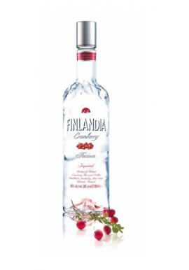 Finlandia Vodka Cranberry 1 Liter 40% Vol.