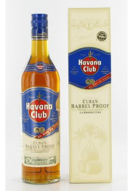 Havana Club Cuban Barrel Proof 0.7 Liter
