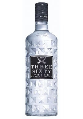 Three Sixty Vodka 0,5 Liter