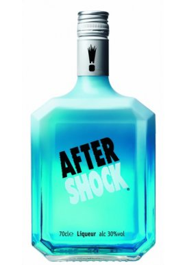 After Shock Blue Citrus Likör